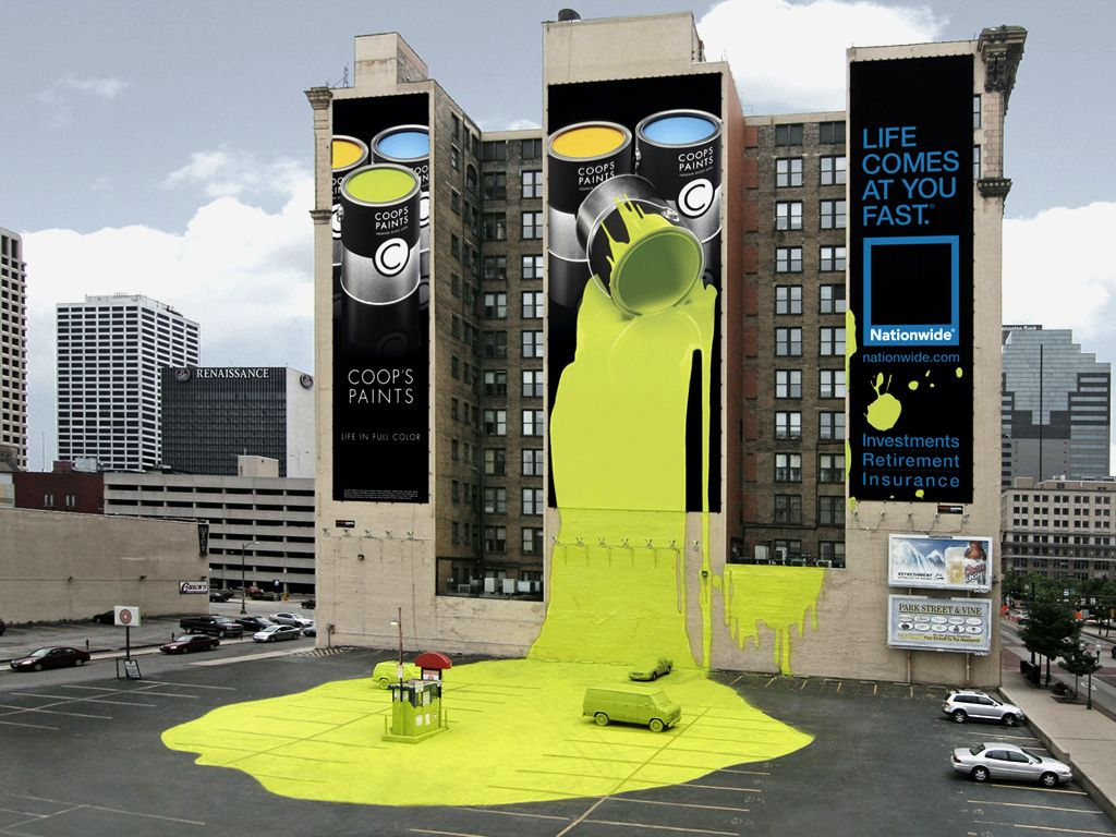 The New Creative In Marketing Advertising And Business - Street advertising