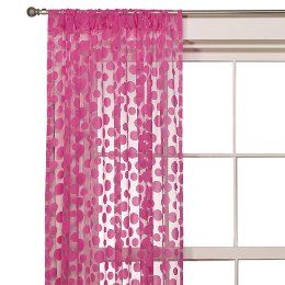 Pink Sheer Curtains From Target