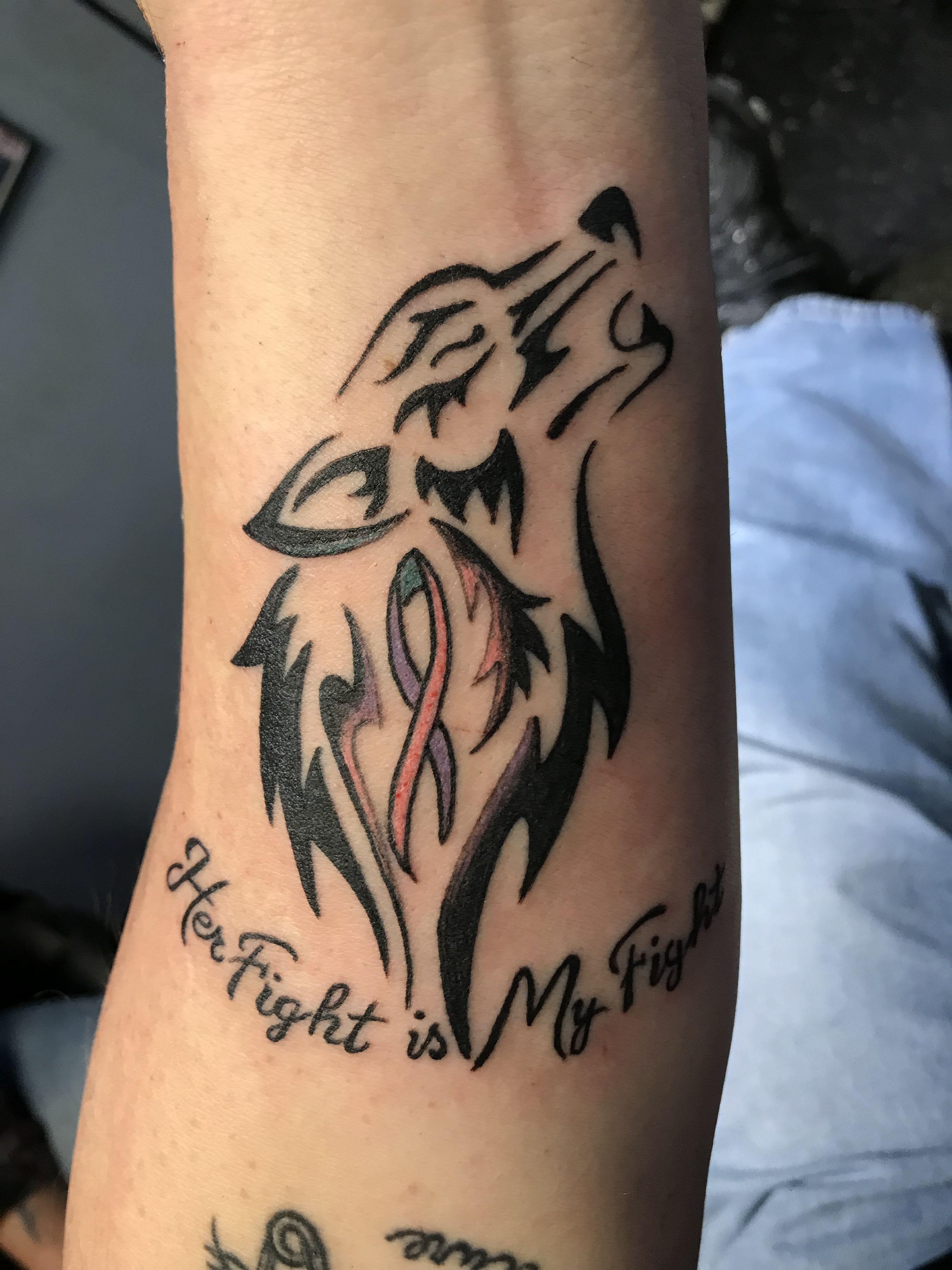 My husbands tattoo my biggest supporter tattoos s