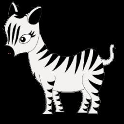 baby zebra icon png clipart image clipart best clipart best rh pinterest com clip art zebra head zebrafish clipart