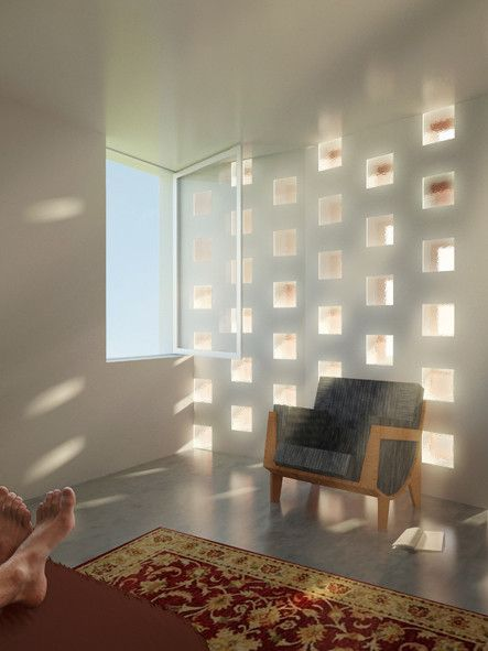 Resultado de imagen para bloques de vidrio luz Pavés Pinterest - pose pave de verre exterieur