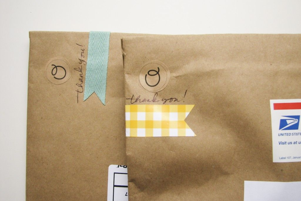 Make Something Monday: DIY Fabric Tape & Stickers - barley & birch #fabrictape
