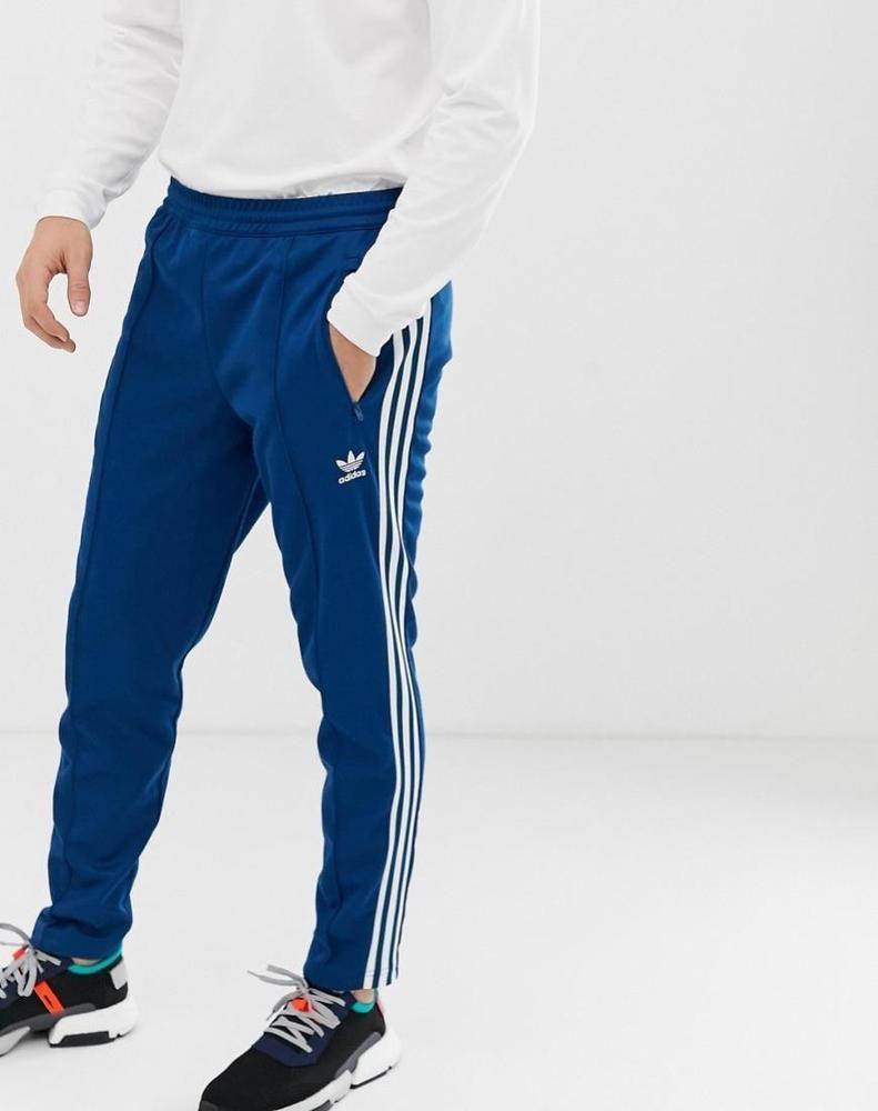 adidas Originals Beckenbauer Joggers in Blue   Latest