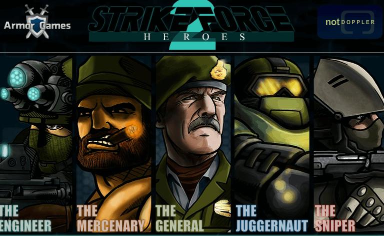 Strike Force Heroes 2 Unblocked Strikeforce Heroes 2