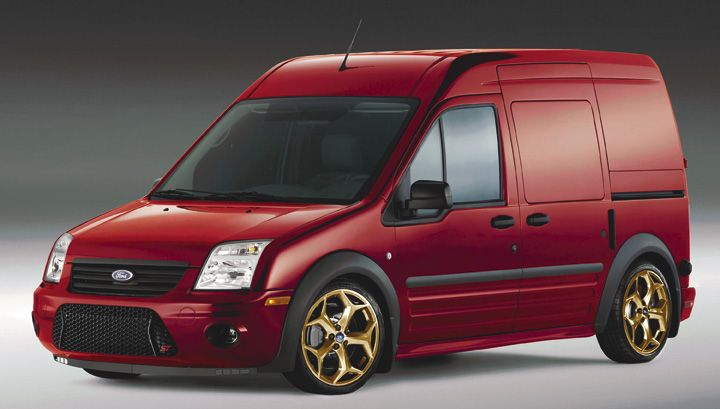 My Car Is In The Photoshop Ford Transit Connect St Ford