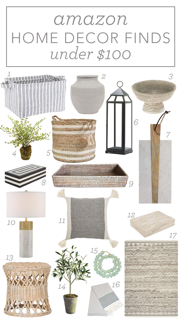 12th and White: Amazon Home Decor Finds Under $100