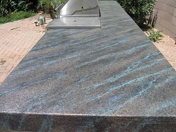 Do it yourself concrete countertops faux rock - Exterior concrete resurfacing products ...