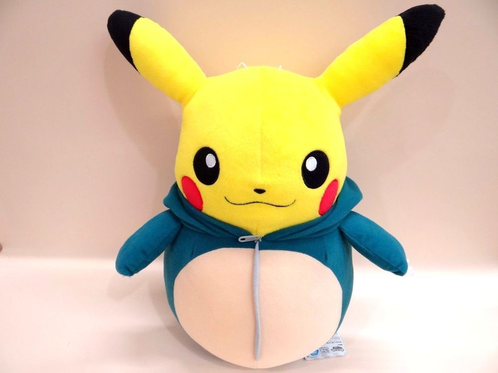 POKEMON Plush Doll PIKACHU nebukuro collection KABIGON from japan ...