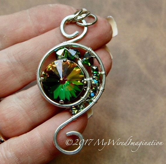 Wire Wrapping Tutorial, Eye of the Hurricane, Wire Wrap Pendant ...