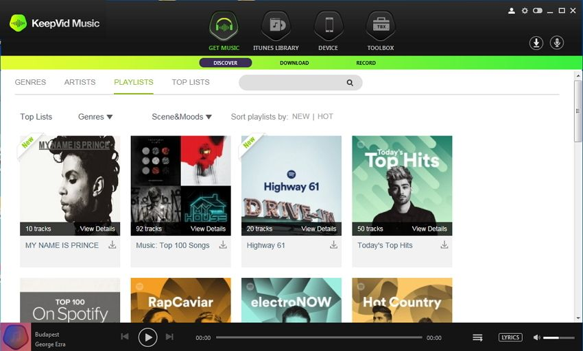Download Music Playlists From Keepvid Music To Itunes Directly