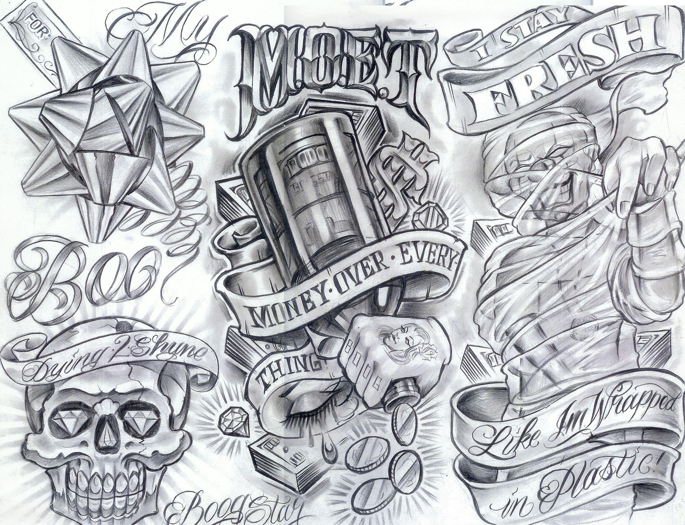 Tattoo Flash By Boog Tatuirovki Zarisovki 191 Foto Money Tattoo Half Sleeve Tattoos Designs Tattoo Drawings