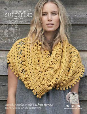 Pin von Bonnie Parsons auf Crochet Adult Shawls n Capes | Pinterest ...