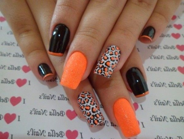 The best nail designs 2015 for women matte tiger pattern and french the best nail designs 2015 for women matte tiger pattern and french tip nail design solutioingenieria Choice Image