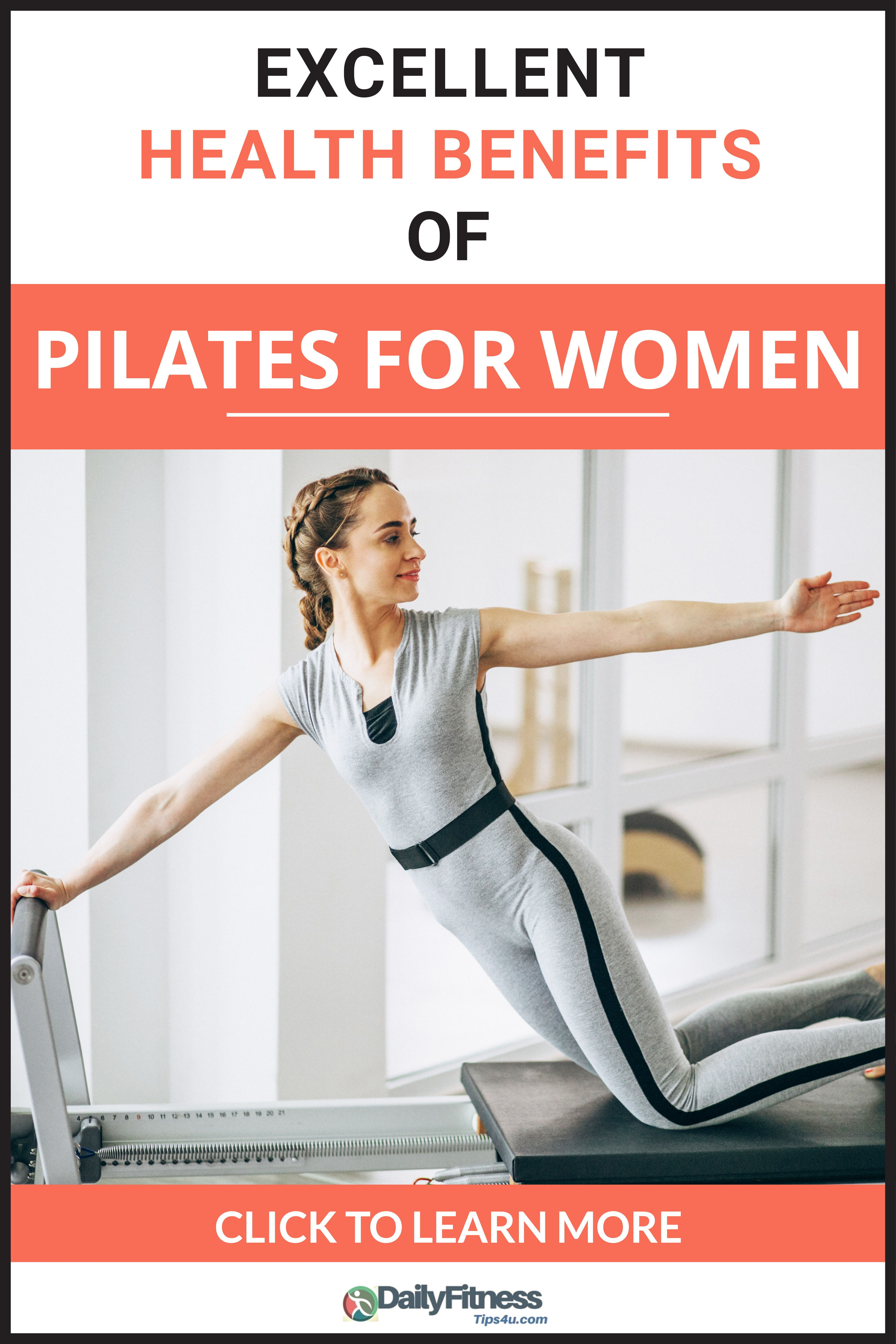 Excellent health benefits of pilates for women in 2020