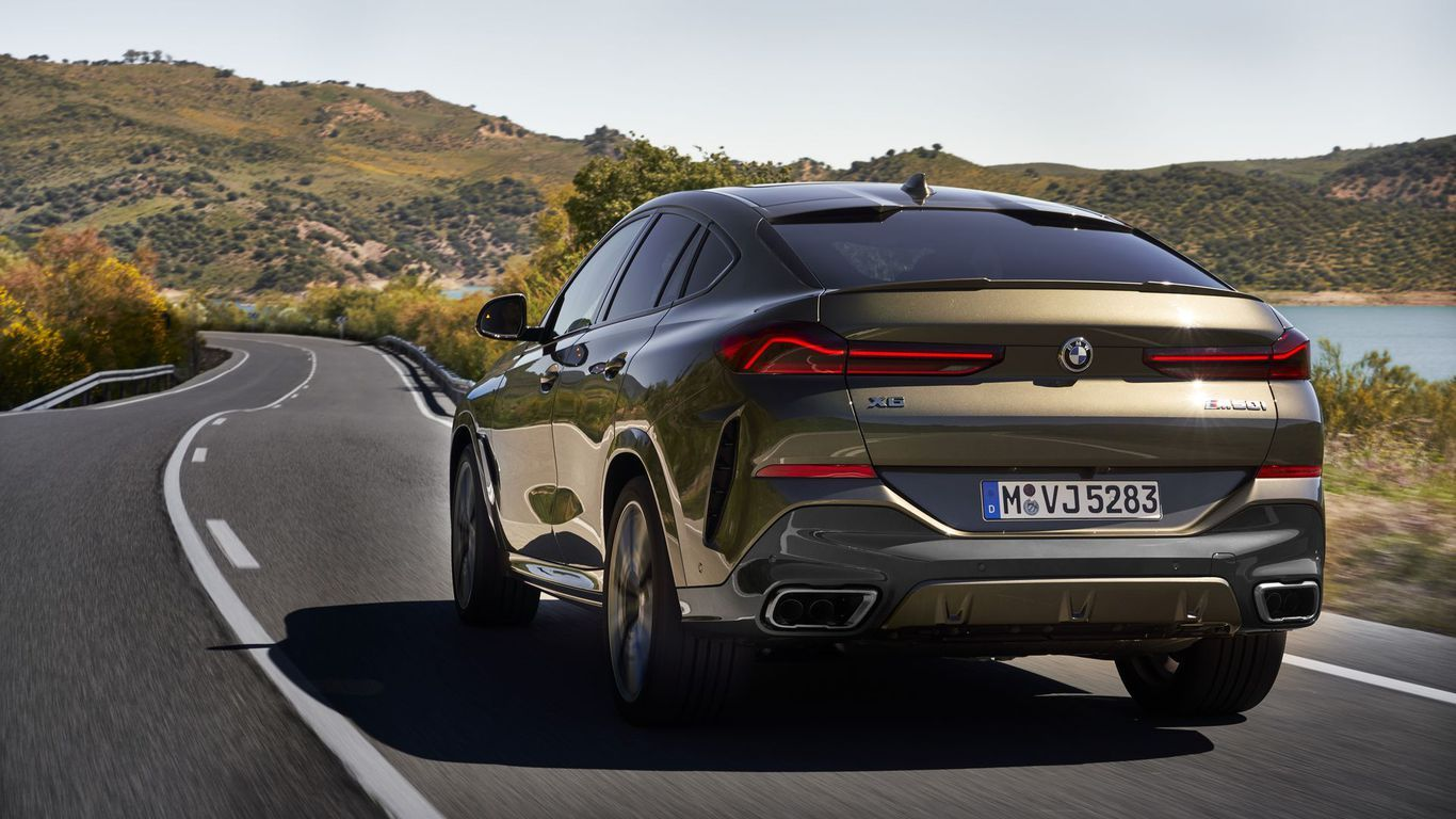 What We Re Driving The 2020 Bmw X6 Xdrive40i Axios Bmw X6 Bmw Good Looking Cars