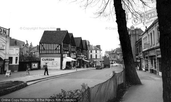 Sutton, Cheam Road c.1961, from Francis Frith