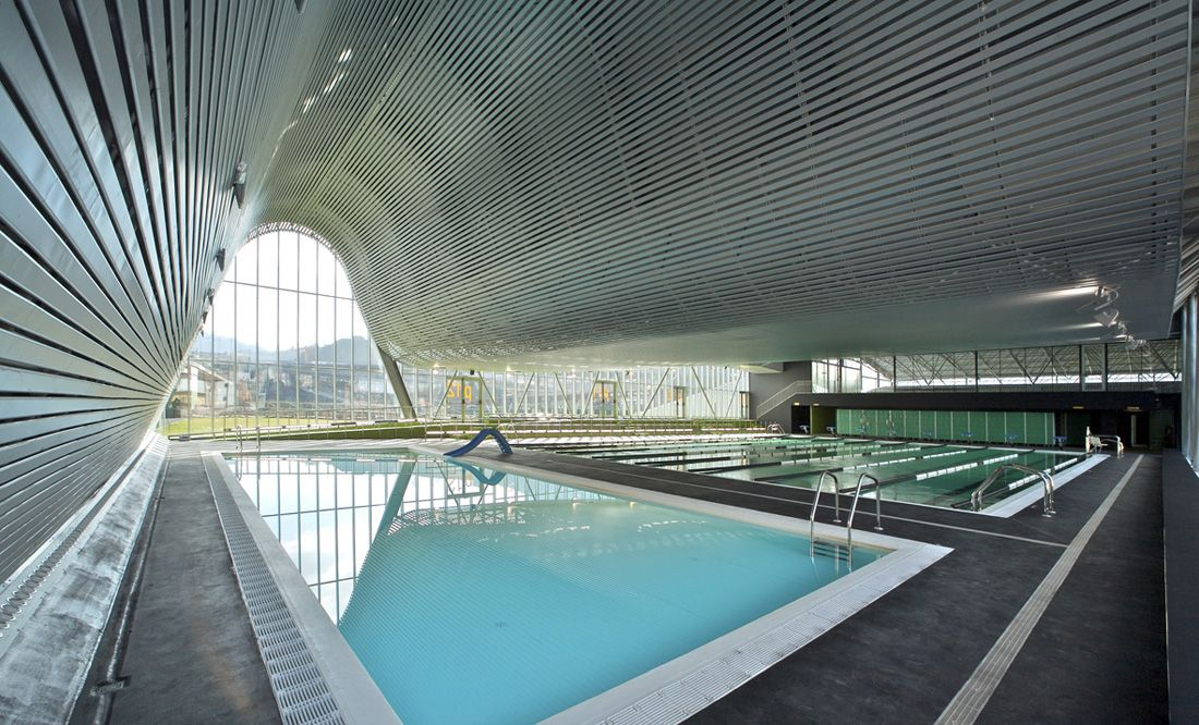 Sports And Leisure Centre ACXT Earth Swimming Pools