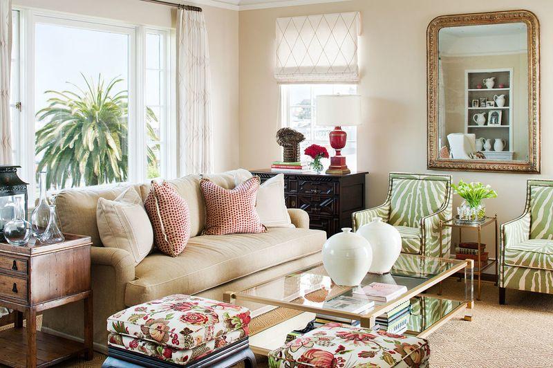 eclectic living room by Tamara Mack Design