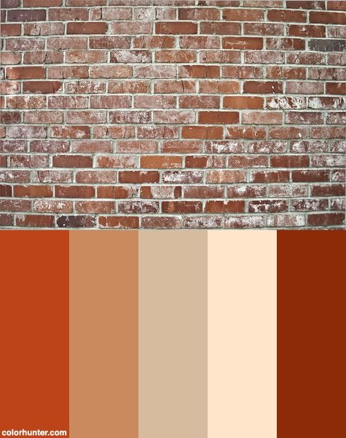 Bricks Color Scheme Brick Colors