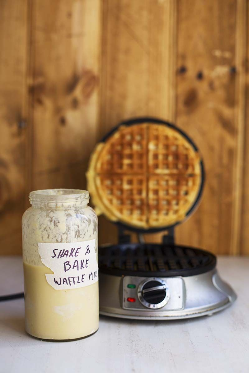 Shake And Bake Buttermilk Waffle Mix In A Jar The Sugar Hit Waffle Mix Waffles Shake N Bake