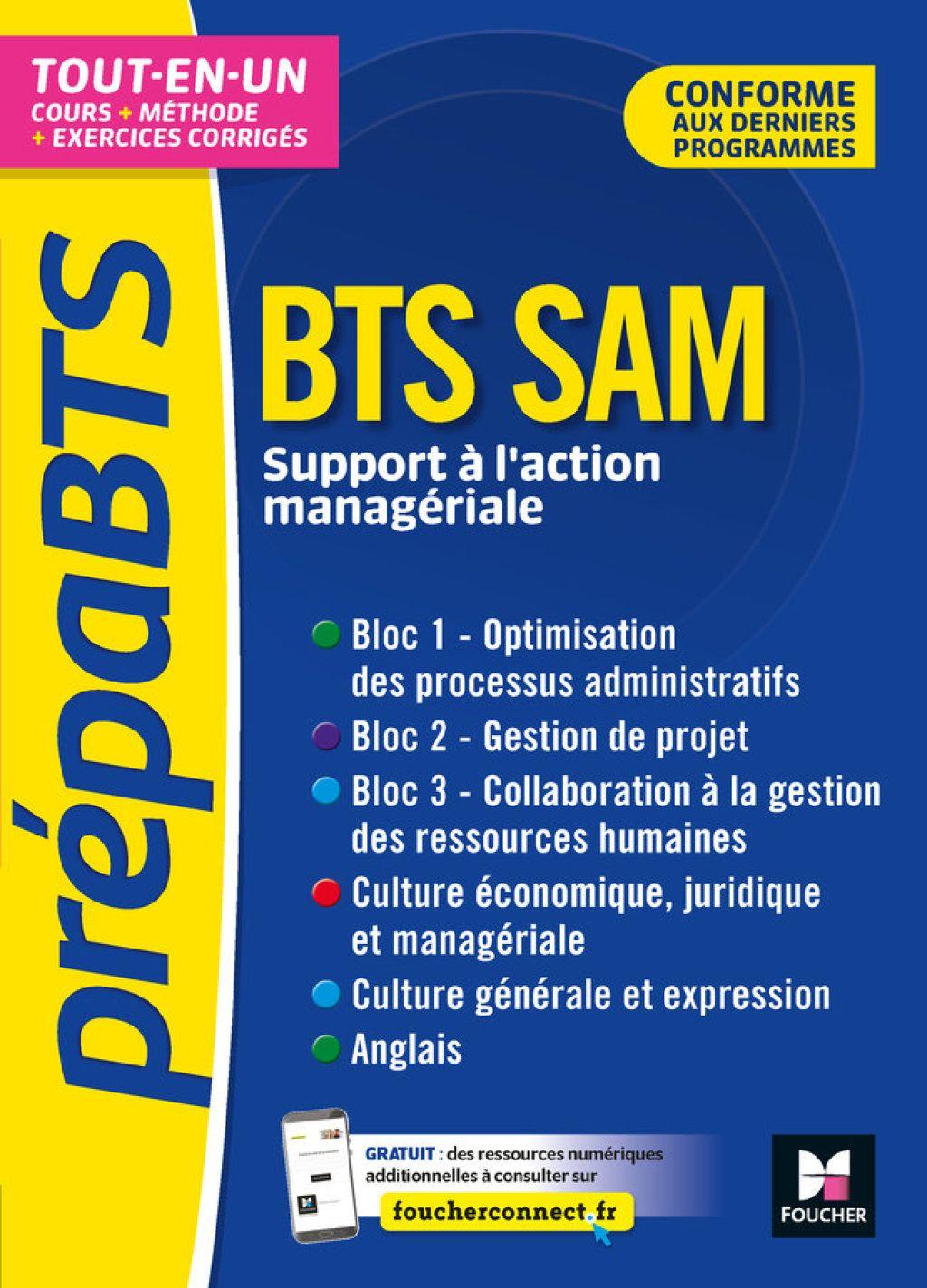 Prepabts Bts Sam Toutes Les Matieres Revision Et Entrainement Ebook Books Top Books My Books