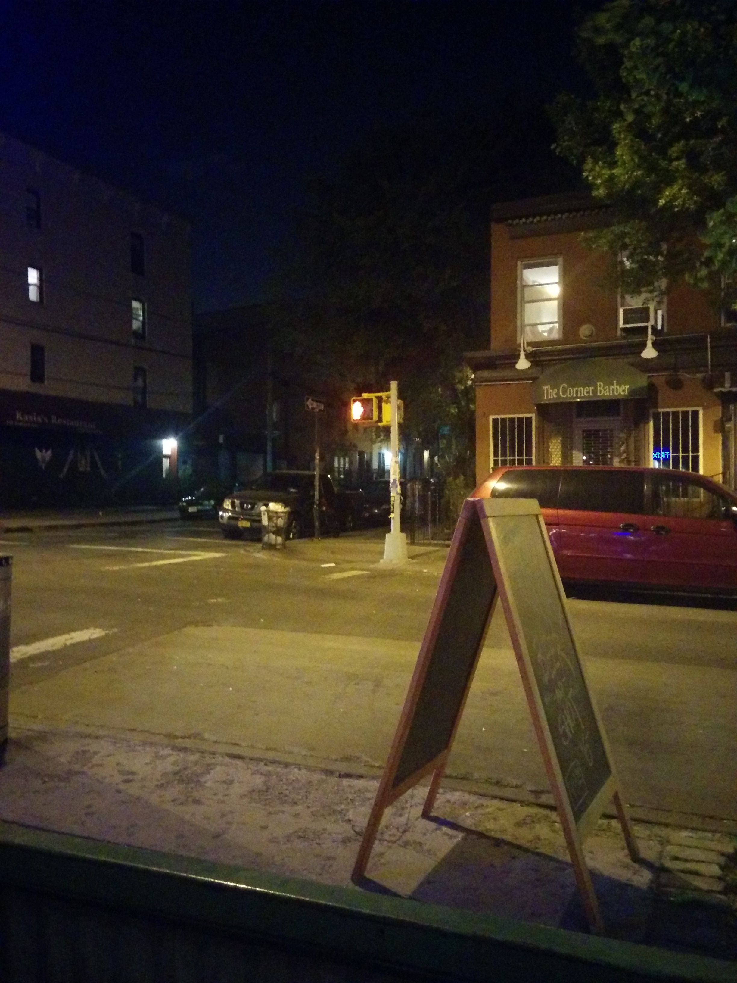 Williamsburg, Brooklyn. View from the bar.