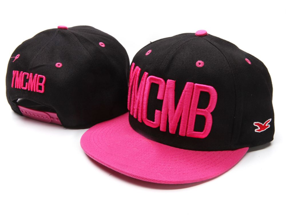 Gorra Plana rosa mujer - Snapback cap pink YMCMB  186bb765c7b
