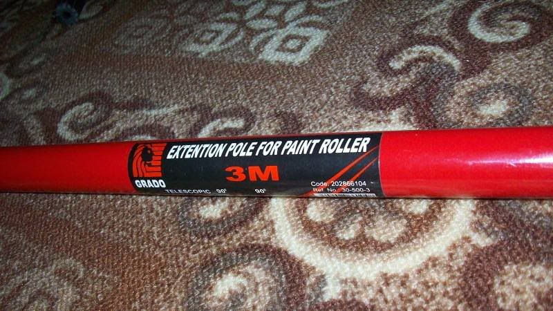 use an extendable paint roller pole for your c&ing tarp & use an extendable paint roller pole for your camping tarp | Camp ...