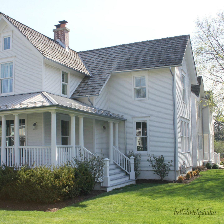 1875 Industrial Modern Farmhouse Tour Exterior Modern