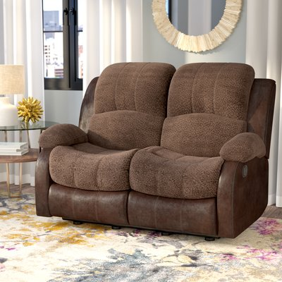 Cool Red Barrel Studio Welling Double Reclining Loveseat Ocoug Best Dining Table And Chair Ideas Images Ocougorg