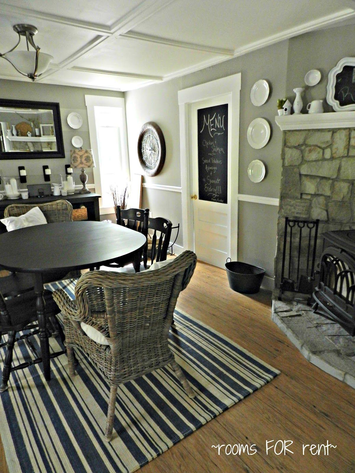 Room For Rent Design: Chalkboard Door, Simple Ceiling ~rooms FOR Rent Blog