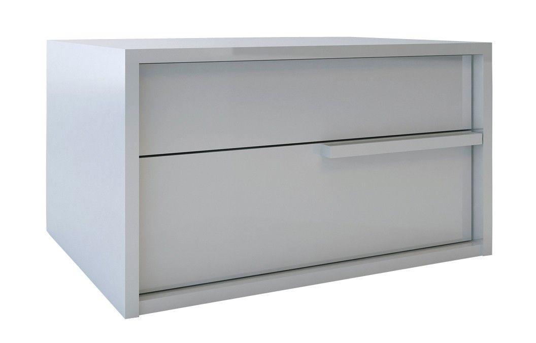 Best Jane Nightstand Mirrored Nightstand Nightstand White 400 x 300