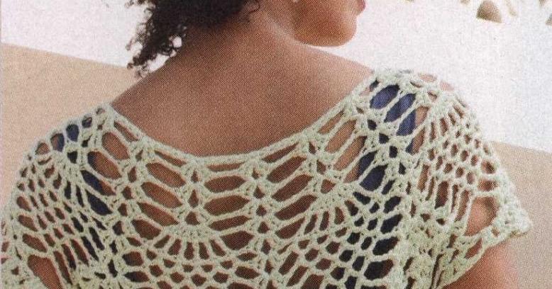 Patrones Crochet: Jersey de Red Superposicion de Otoño | como hago ...