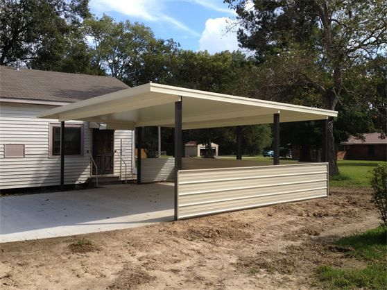 FREE STADING CARPORT COVER | Patio awning, Patio, Covered ...