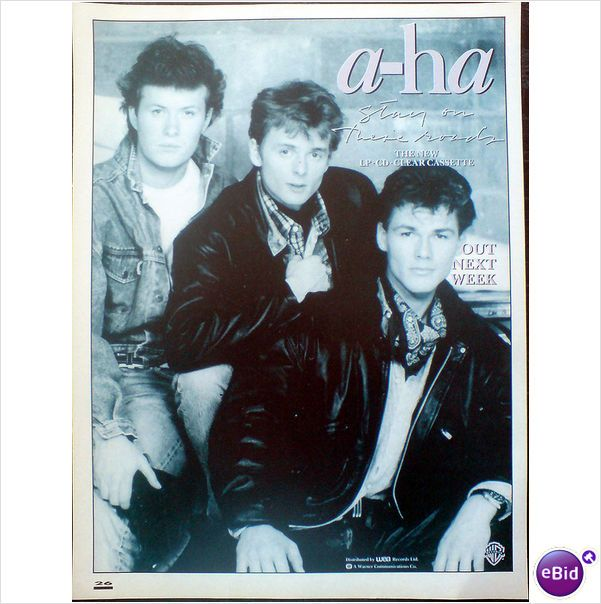 A Ha Stay On These Roads Mag Album Advert Smash Hits Magazines