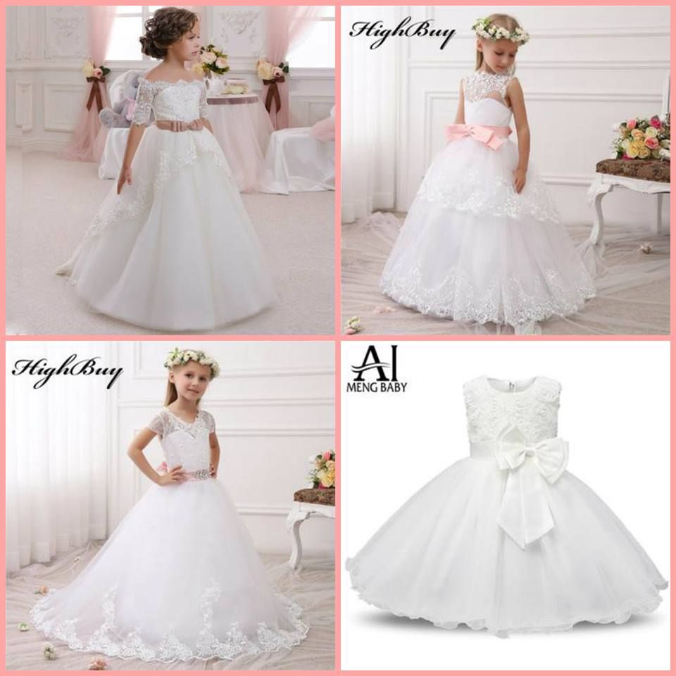 Wow ladies just in more wedding dresses communion or flower girls