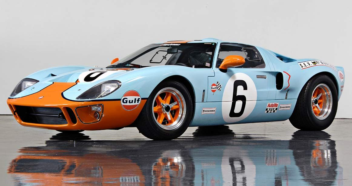 Only Mini In This Color Combination North American Motoring Ford Gt40 Ford Gt Ford Classic Cars