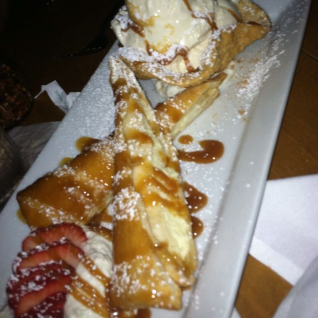 Fried Cheesecake:) yummy