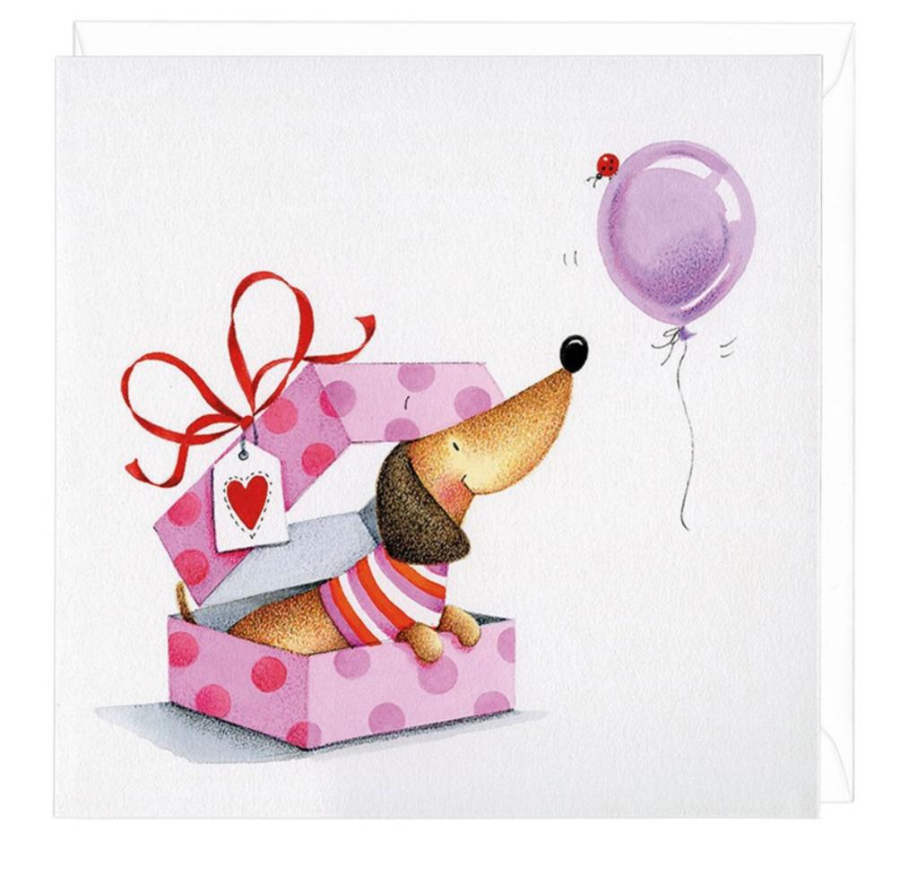 Картинка с днем рождения с таксой, открыток герои
