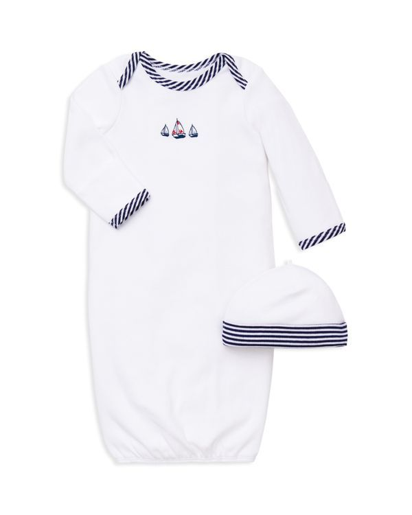 Little Me Infant Boys\' Sailboat Gown & Hat Set - One Size | Products ...
