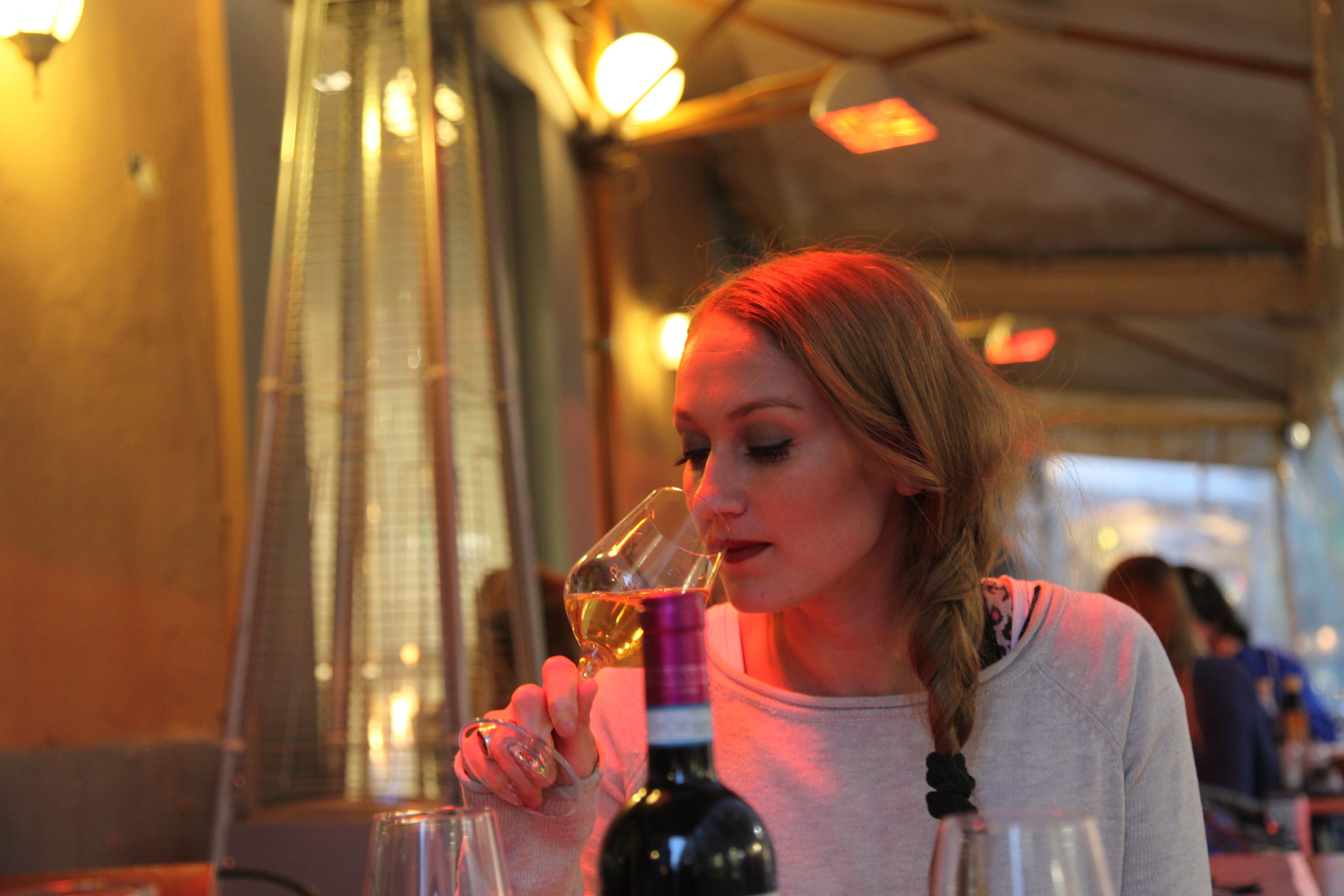 This wine is mine!