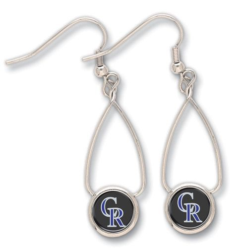 Colorado Rockies French Loop Earrings