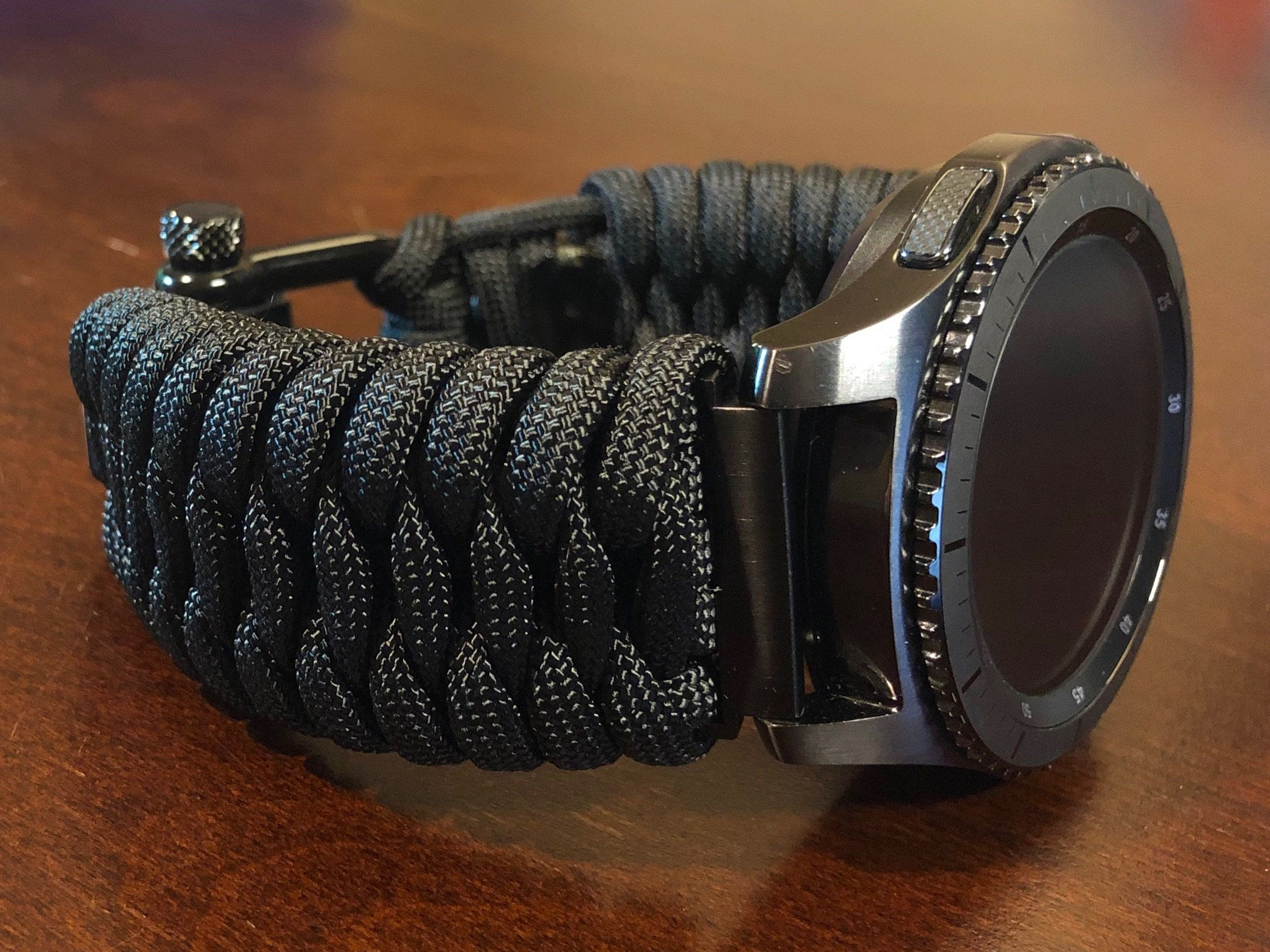Samsung Galaxy Watch Band Gear S3 Frontier Gear Sport Paracord
