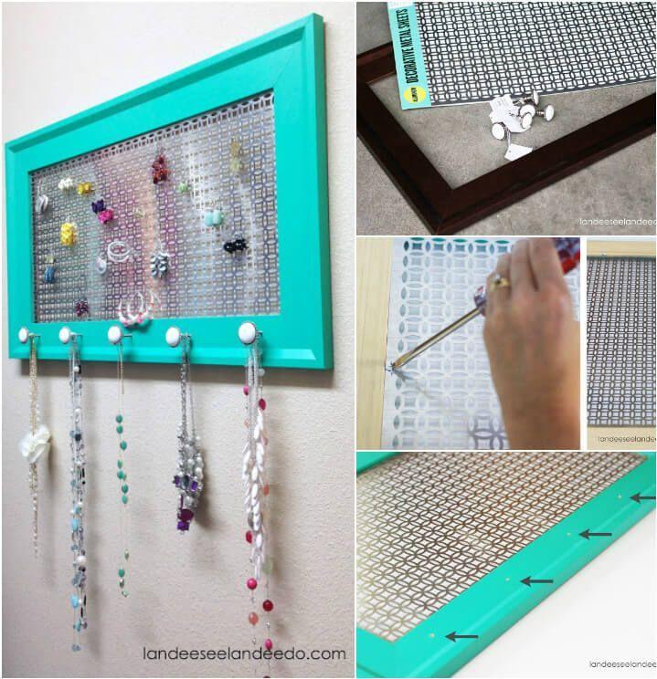 100 diy jewelry organizers storage ideas full tutorials diy 100 diy jewelry organizers storage ideas full tutorials diy crafts solutioingenieria Choice Image