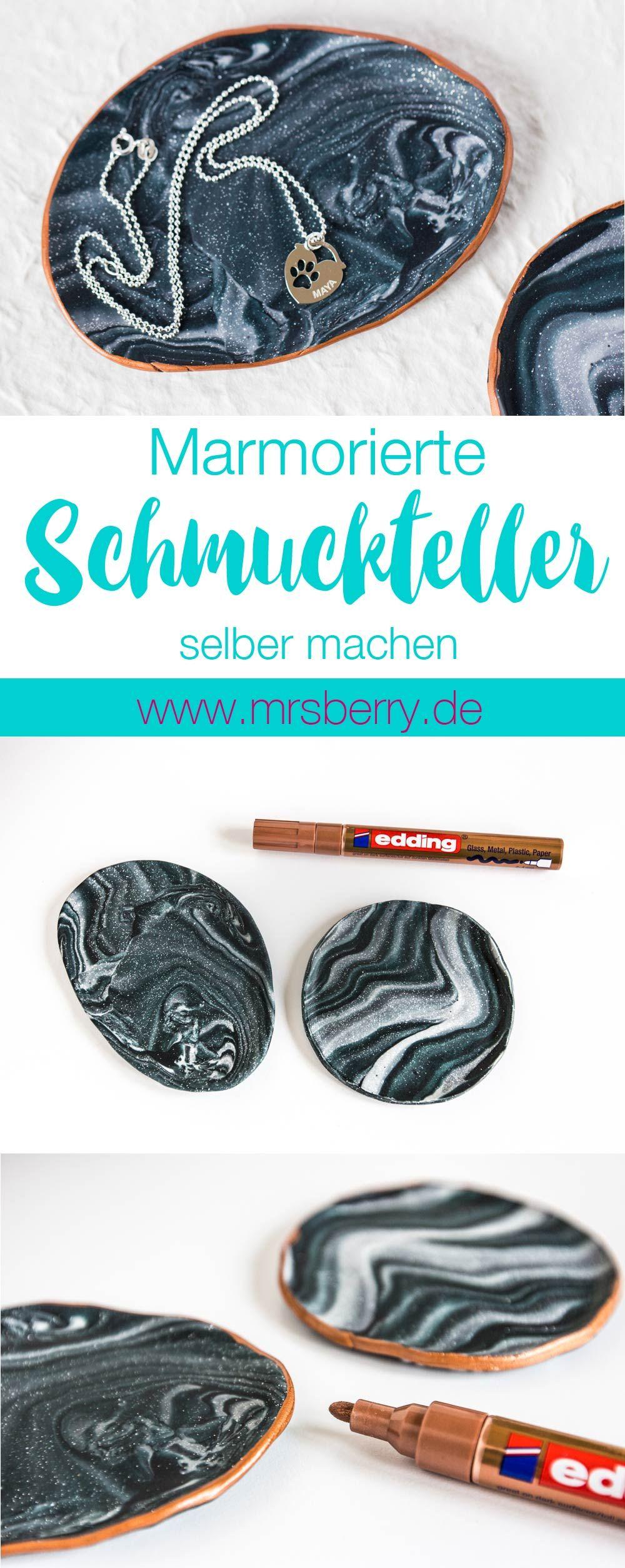 Namensketten von namesforever marmor schmuckteller diy diy blogstlove pinterest fimo - Fimo muttertagsgeschenk ...