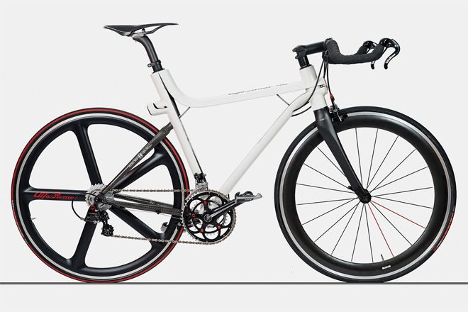 Bicycle Frame Carbon Roadster Style