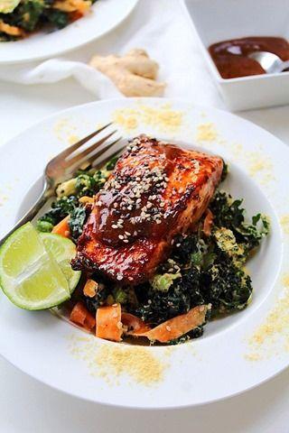 Teriyaki Salmon Whole 30 30 Whole 30 Pinterest Teriyaki