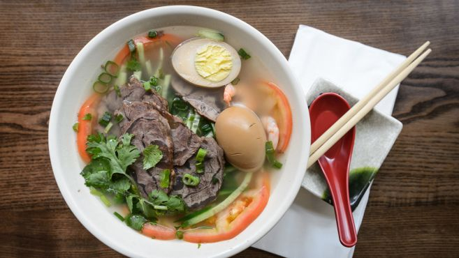 KUNG FU LITTLE STEAMED BUNS RAMEN - 50 best cheap eats and affordable dishes in NYC