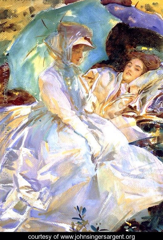 Cashmere    by John Singer Sargent Giclee Canvas Print Repro