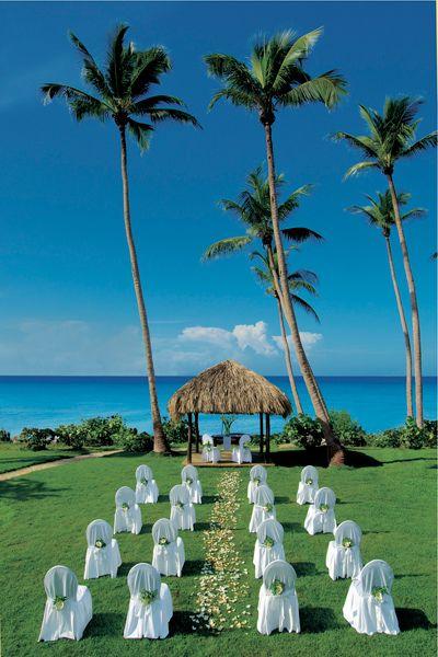 Destinationwedding Inspiration Beach Wedding Exotic Caribbean Dominican Republic